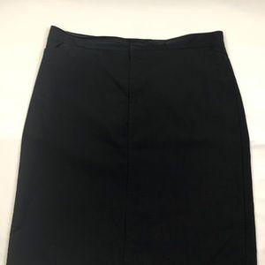Women's Dockers stretch black skirt size 16